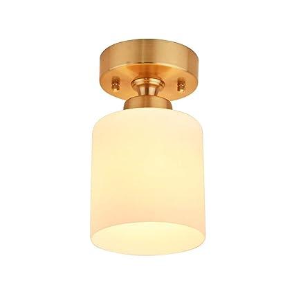XAJGW One Light Chandeliers Modern Glass Colgante ...
