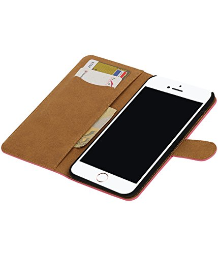 MobileFashion Effen Book Cases pour Iphone 7 plus Portefeuille Case Cover Booktype avec Slots pour cartes et support