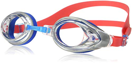 NIKE Men's Progressor Soft Seal Swim Goggle, Action Red, One Size ()