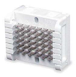 Wiring Block, 6-pair, 6 x 6 block size