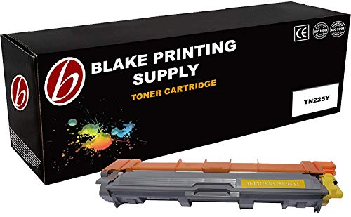 Blake Printing Supply Toner Cartridge Compatible with Brother HL-3140CW, HL-3170CDW, MFC-9130CW Color Laser Toner Cartridge Ink Yellow High Capacity
