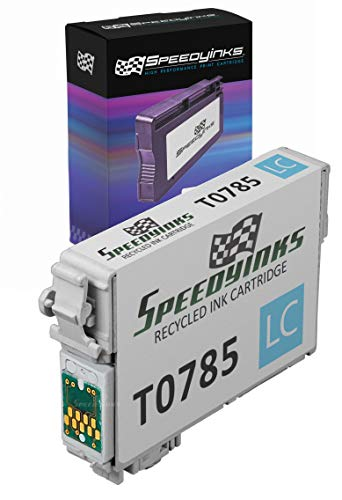 Speedy Inks - Remanufactured Light Cyan Ink for Epson 78 T078520 for use in Epson Stylus Photo RX580, Epson Stylus Photo R260, Epson Stylus Photo R380, Epson Stylus Photo R280, RX595