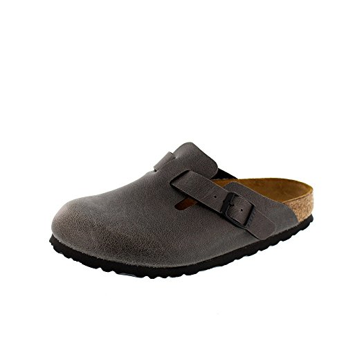 BIRKENSTOCK - Clog BOSTON BF 1000305 - pull up anthracite, Taille:EUR 36