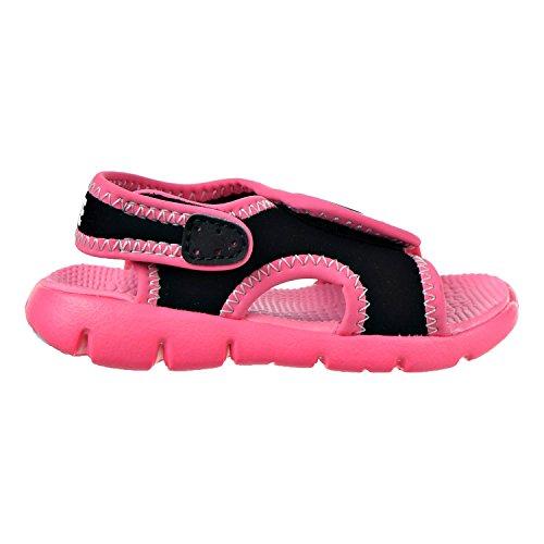 Nike Kids Sunray Ajuster 4 Sandales Pour Tout-petits Black / Pure Platine