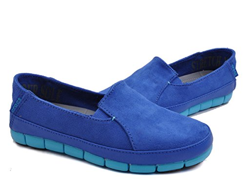 Mocassini Cerulean Blue 38 Blu And Electric 37 Donna EU Blue Variation Crocs Tq5xwA1w