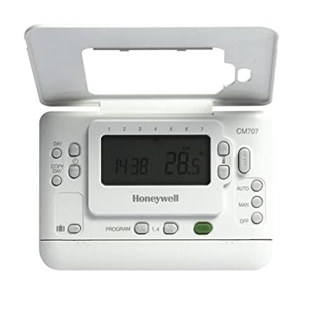 a programming honeywell thermostat cm907 amazon co uk kitchen home rh amazon co uk Honeywell Thermostat Operating Manual honeywell thermostat cm907 user guide
