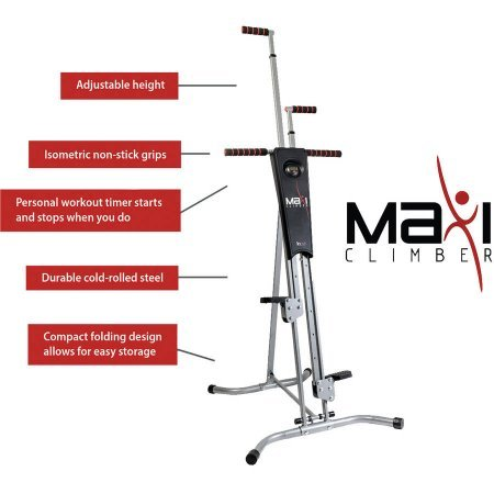 Maxiclimber Total Body Workout Step Machines Roman