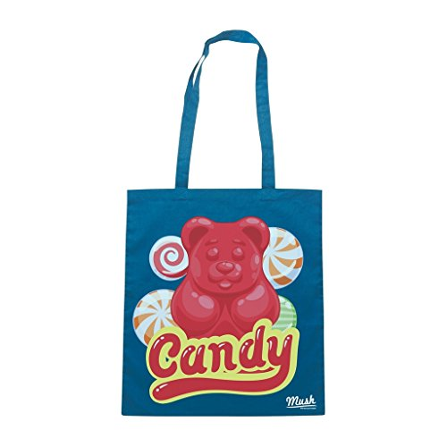 Borsa CANDY BEAR - ORSETTO - Blu Royal - DIVERTENTE by Mush Dress Your Style