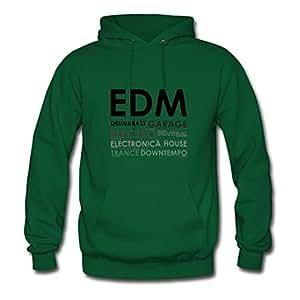 The Edm Kingdom Designed Women Round-collar Sweatshirts - X-large - Electric Green