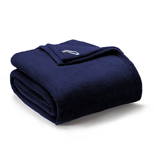 Snuggle Super Plush Blanket Lightweight Cozy Microvelvet Solid Color - Extra Soft Brushed Fabric, Easy Care - 90