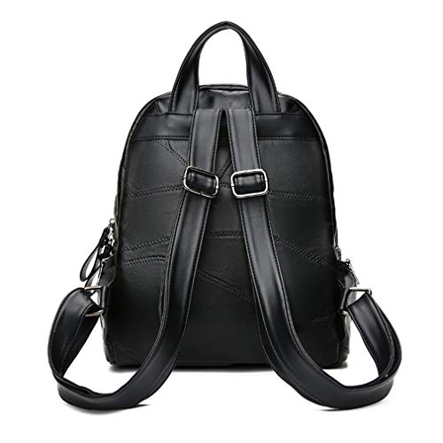 Sheepskin Women Bags Female Backpack Multi Shoulder Leather School Travel Backpacks UtwqxU8Zr