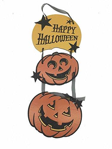 Pumpkin Halloween Door Decoration Hanger, 16