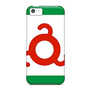New Customized Design Ingushetia Flag Russia For Iphone 5c Cases Comfortable For Lovers And Friends For Christmas Gifts