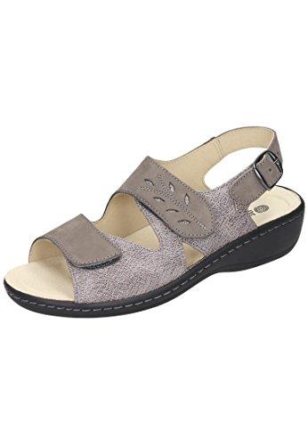 Dr. Brinkmann Dr. Brinkmann Damen Sandalette - Sandalias de vestir de Piel para mujer Azul azul Gris - gris