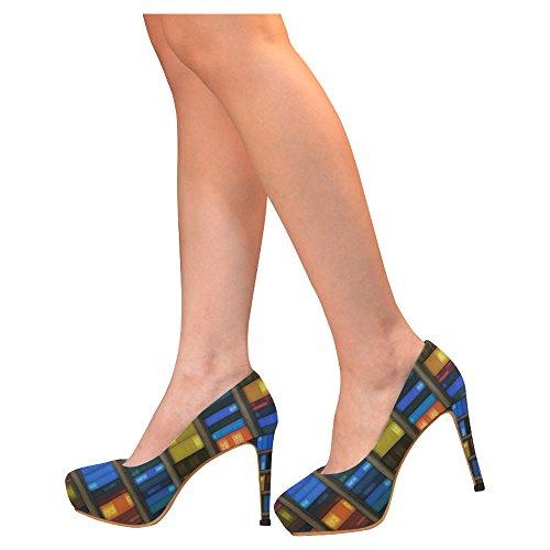 D-verhaal Mode Damesschoenen Stiletto Hoge Hak Pumps Veelkleurig28