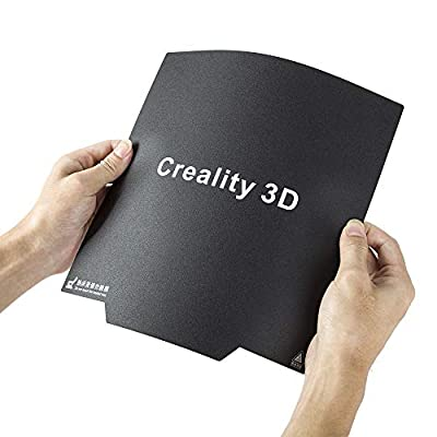 Creality 3D Ender 3 Ultra-Flexible Removable Magnetic Build Surface 3D Printer Heated Bed Cover 9.25x9.25 Inches