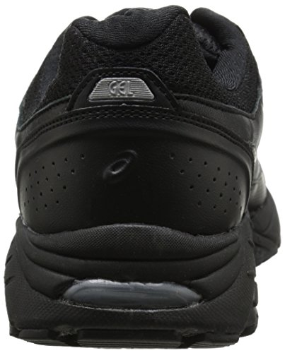 37c0ff6102 ASICS Men's Gel-Foundation Workplace (4E) Walking Shoe,Black/Onyx/
