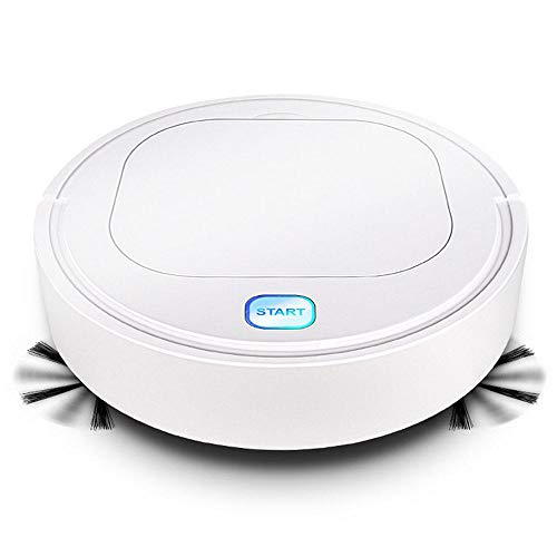 FOONEE Robot Vacuum Cleaner, 3 in 1 Automatic Sweeping Vacuuming & Mopping Ultra Slim Quiet Vacuum Cleaner,1200Pa Strong Suction & Anti-Collision Sensor for Hard Floor,Tile,Pet Hair and Carpets