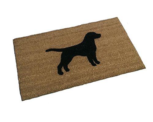 - Labrador Retriever Silhouette Doormat (18