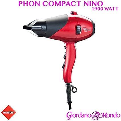 Secador profesional Muster secador 1900 W Compact Nino para peluquería