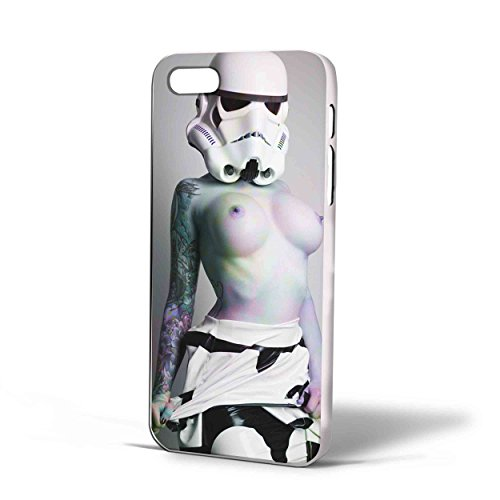 Stormtrooper Star Wars sexy girl for iPhone Case (iPhone 6s White) (Storm Trooper Sexy)