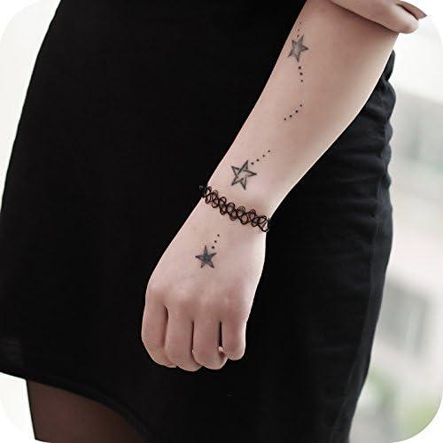 BAOZIV587 Europa y los Estados Unidos joyería retro tatuaje hueco ...