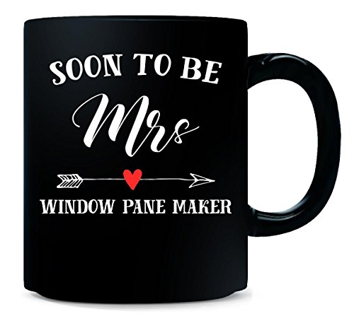 - Soon To Be Mrs Window Pane Maker Womens Bridal Wedding Gift - Mug