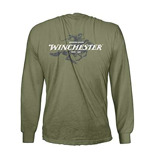 Official-Winchester-Mens-Cotton-Legend-Rider-Graphic-Printed-Long-Sleeve-T-Shirt
