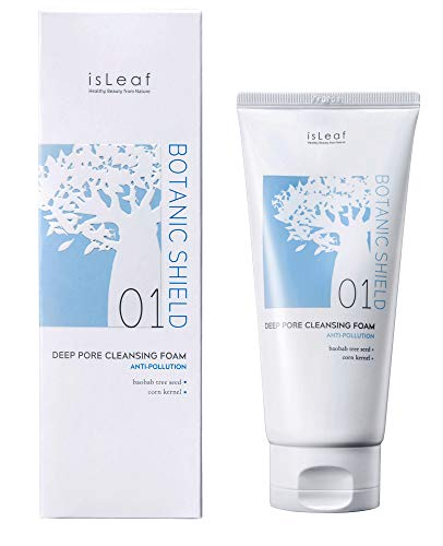 isLeaf Adansonia Digitata Seed Extract Perfect Deep Pore Cleansing Foam for sensitive skin