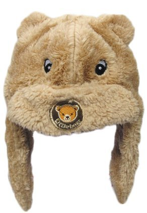 3-pack Kids' Animal Furry Warm Winter Hats (Mix 2)