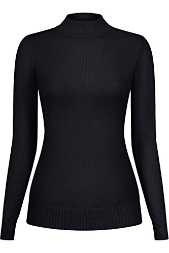 Nylon Mock Turtleneck - 3