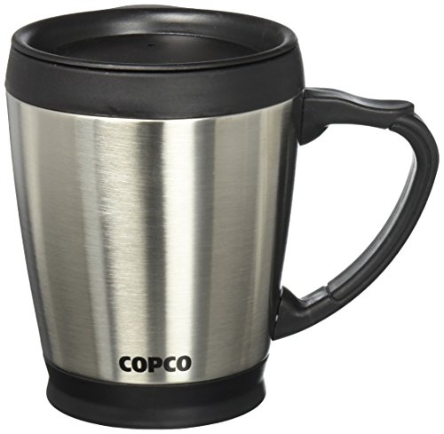 Copco 2510-7313 Desktop Double Wall Stainless Steel Coffee M