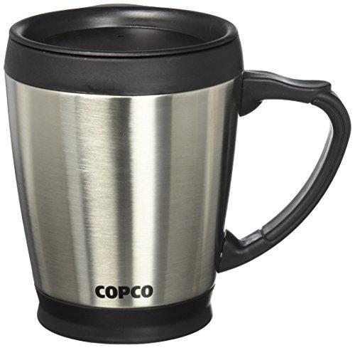 Wilton 2510-7313 Double Wall Stainless COPCO Desktop Steel Coffee Mug, 16 Ounces