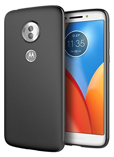 Cimo Slim Matte Moto G6 Play Case with Premium TPU Protection for Motorola Moto G6 Play, G6 Forge - Black