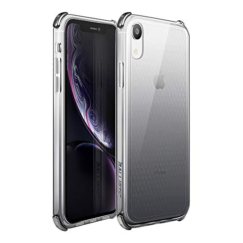- Ballistic iPhoneXR ClearCase,Slim ProtectiveHeavy Duty Coverwith Shockproof Electroplated Corners foriPhoneXR6.1Inch (2018)-Ballistic [Jewel Spark Series] Clear Gradient Black