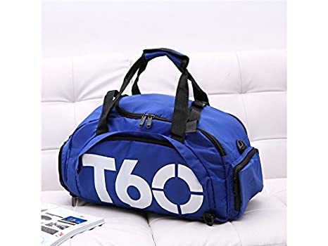f6088c799d46 Image Unavailable. Image not available for. Color  Yunqir Multi-function  Outdoor Large Capacity Gym Bag Sports Holdall Travel Weekender Duffel ...