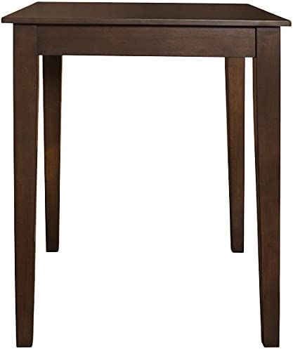 Crosley Furniture 32-inch Tapered Leg Pub Table – Vintage Mahogany