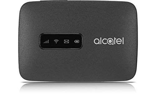 Router Hotspot Alcatel 4G LTE MW40 Unlocked GSM (4G At&T Cricket H2O USA Latin Caribbean Europe) Up to 15 wifi users MW40CJ (Black)