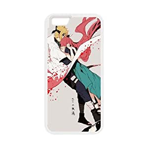 Naruto Minato and Kushina iPhone 6 Plus 5.5 Inch Cell Phone Case White Protect your phone BVS_717360