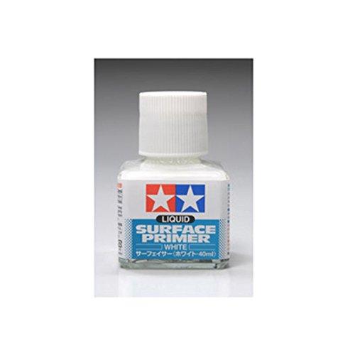 Wht Liquid Surface Primer 40ml (Surface Primer Tamiya)