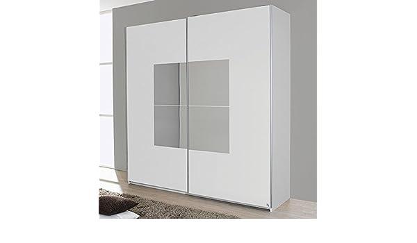 Blanco Armario de puertas correderas 2 puertas B 181 cm Armario Armario Ropa Armario Armario Dormitorio Juvenil habitaciones: Amazon.es: Hogar