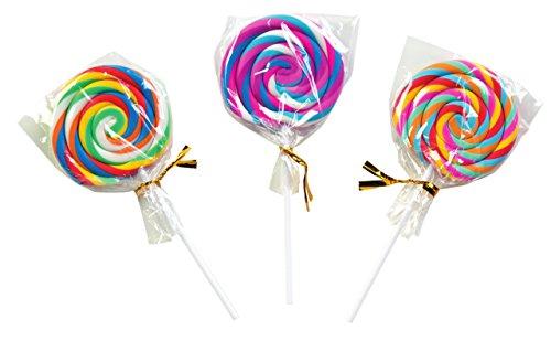 Raymond Geddes Swirl Pop Scented Erasers, Set of 24 (69751) -