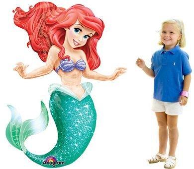 Mayflower Products Little Mermaid 5334; Airwalker Balloon (Each) - Party Supplies -