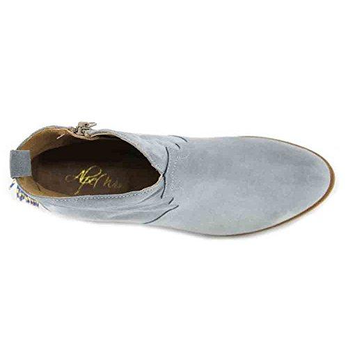 ALPE 3494 Women's Ankle Boots - 38, Serraje Celeste