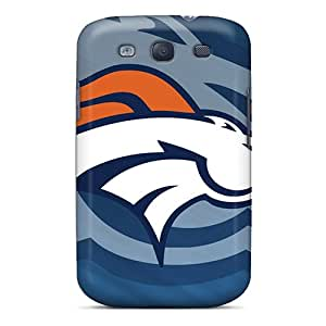 Top Quality Case Cover For Galaxy S3 Case With Nice Denver Broncos Appearance