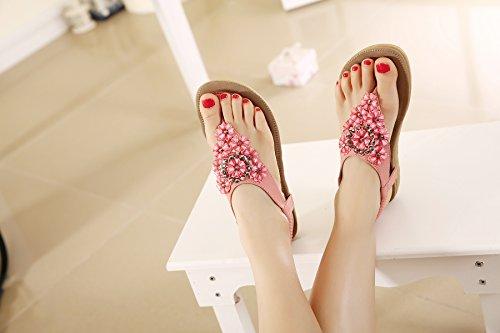 Bride Belloo De T560 Femme pink Cheville qzzw8rWd