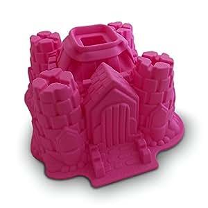 Molde de la torta del castillo de silicona hogar - Moldes silicona amazon ...