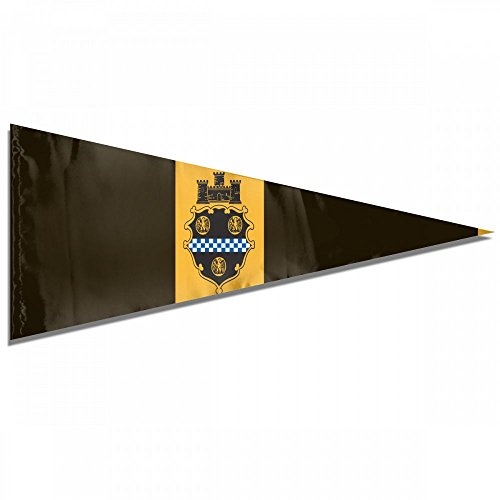 Pittsburgh Flag City (City Of Pittsburgh Flag Premium Pennant Indoor/Outdoor Banner Flags House Garden Flag Triangle Flag 12x30 Inches)