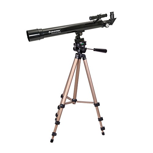DURAGADGET Telescope Tripod with Extendable Legs and Ball-Tilt Head in Black & Gold Compatible With Celestron 21039 PowerSeeker 50AZ Telescope by DURAGADGET