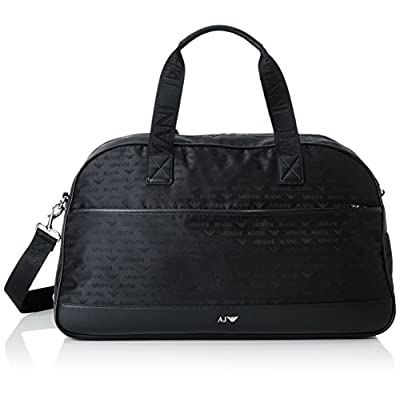 60%OFF Armani Jeans Men s All Over Logo Printed Duffle Bag - store ... 9024565ba1